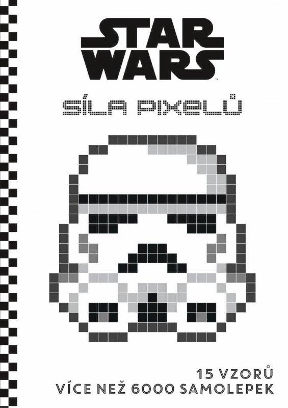 STAR WARS: Pixelové samolepky