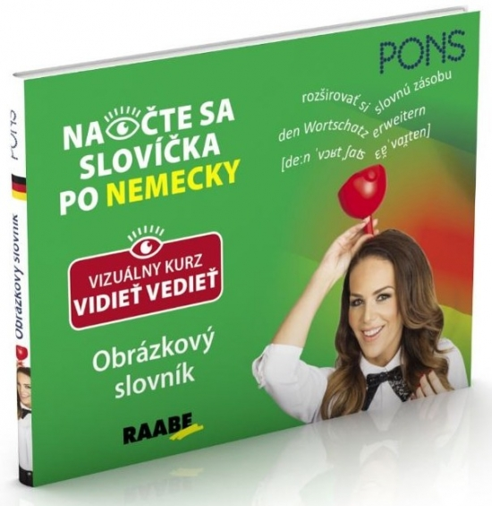 Obrázkový slovník- Pons-Naočte sa slovíčka po nemecky - Priscilla Lavodrama