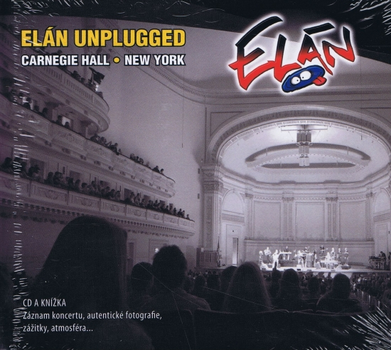 Kniha+CD-Elán Unplugged Carnegie Hall