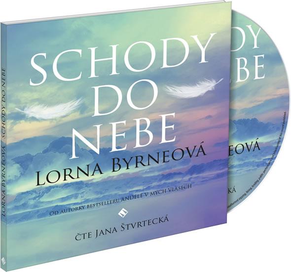 Schody do nebe - CDmp3 (Čte Jana Štvrtecká) - Lorna Byrneová