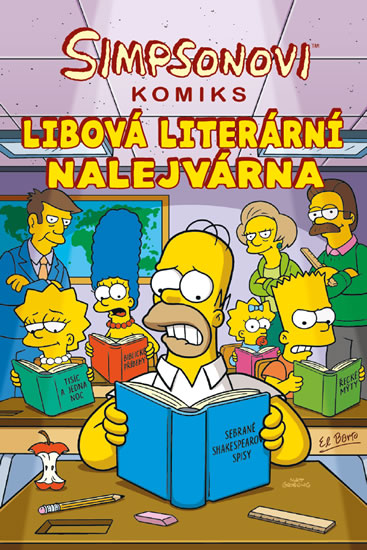 Simpsonovi Libová literární nalejvárna - Matt Groening