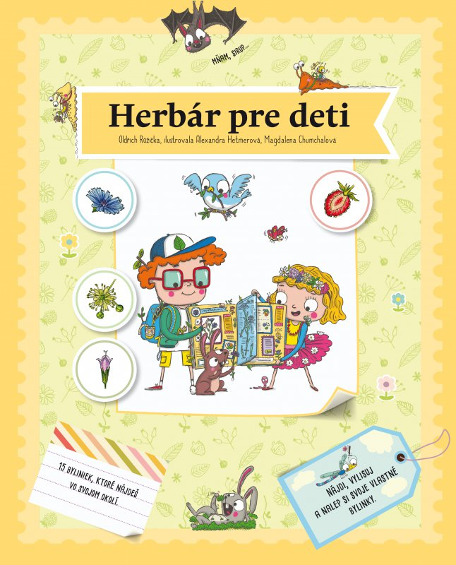 Herbár pre deti - Oldřich Růžička