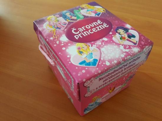 Čarovné princezné v krabičke