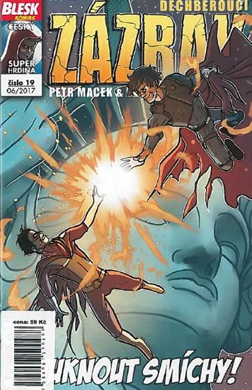 Blesk komiks 19 - Dechberoucí zázrak - Puknout smíchy 06/2017 - Petr Macek, Petr Kopl