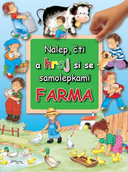 Farma - Nalep, čti a hraj si se samolepkami