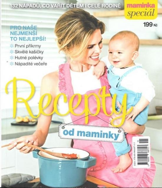 Recepty od maminky - 132 nápadů, co vařit dětem i celé rodině