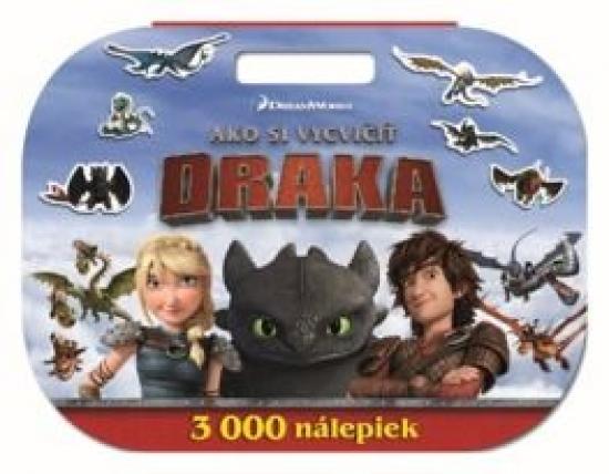 Úžasné hry. Ako si vycvičiť draka. 3000 nálepiek