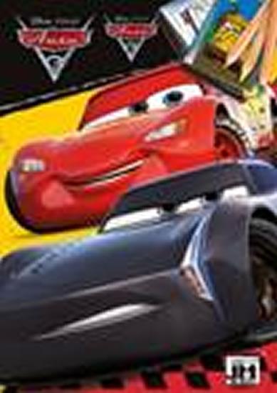 Auta 3 - Omalovánky A5 - Walt Disney
