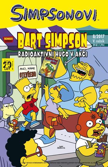Simpsonovi - Bart Simpson 8/2017 - Radioaktivní Hugo v akci - Matt Groening