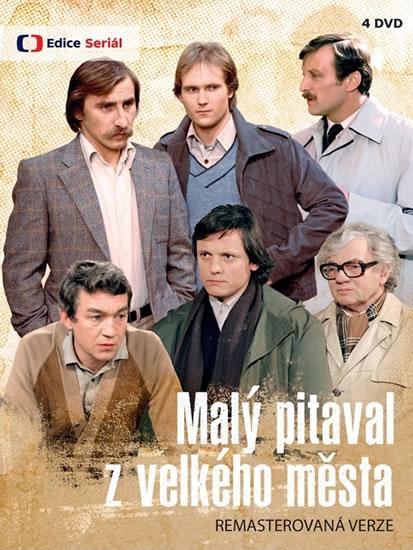 Malý pitaval z velkého města (remastrovaná verze) - 4 DVD - Jaroslav Dietl