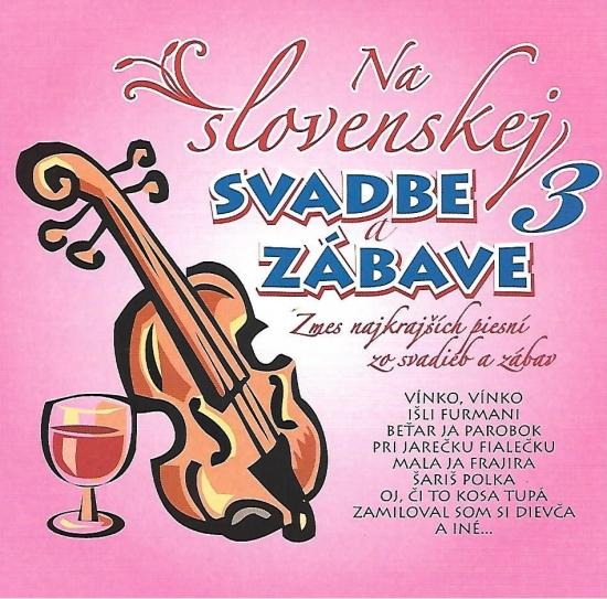 Ľudovky 3 –Na Slovenskej svadbe a zábave 3.(CD)