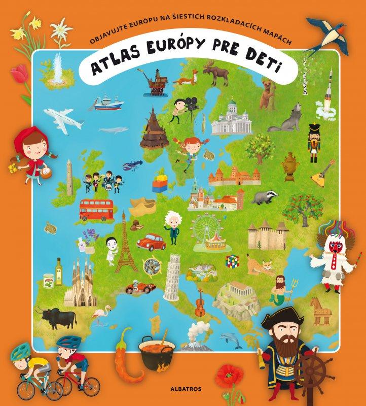 Atlas Európy pre deti - Oldřich Růžička