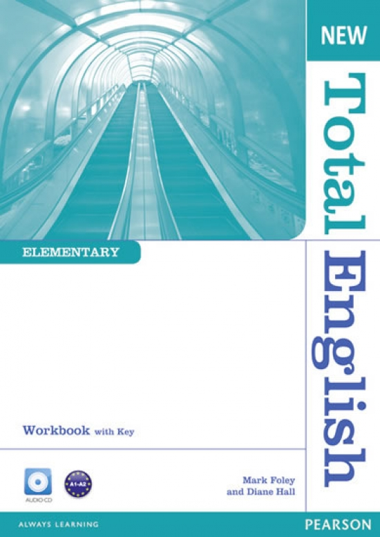 New Total English Elementary Workbook with Key and Audio CD Pack - Mark Foley, Diane Hall