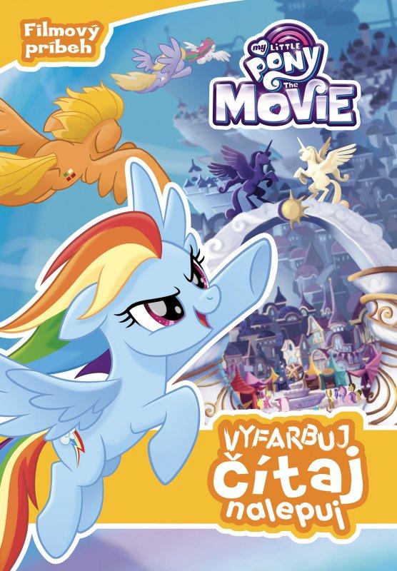 My Little Pony film - Vyfarbuj, čítaj, nalepuj