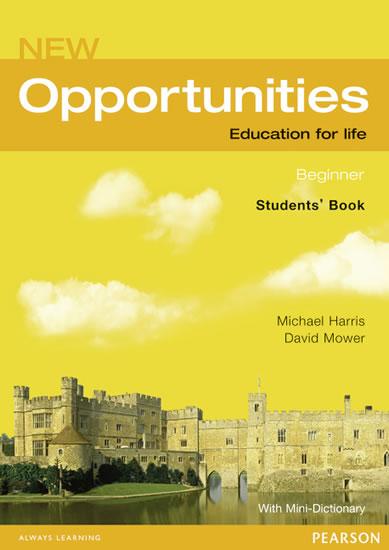 New Opportunities Global Beginner Students´ Book NE - Michael Harris