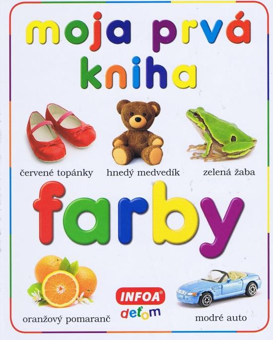 Moja prvá kniha - farby