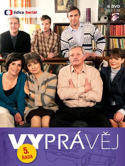 Vyprávěj 5. řada (reedice) - 6 DVD
