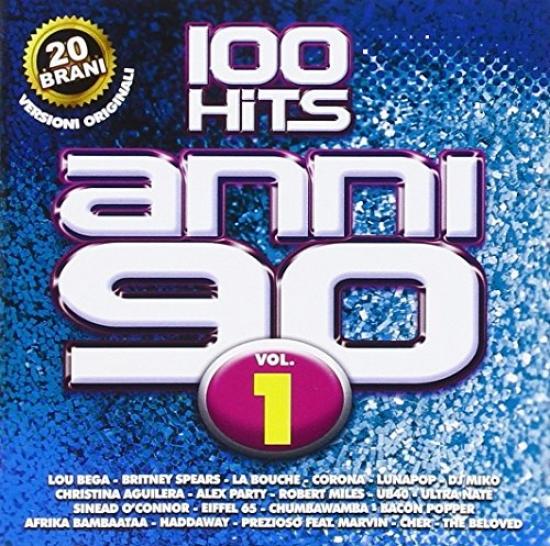 100 hits anni 90 vol.1 CD