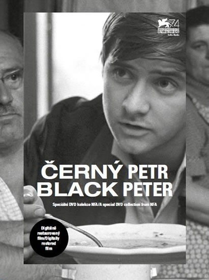 Černý Petr / Black Peter - DVD (digipack)