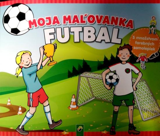 Moja maľovanka futbal