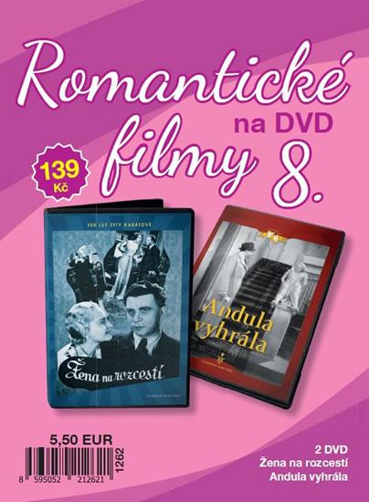Romantické filmy 8 - 2 DVD