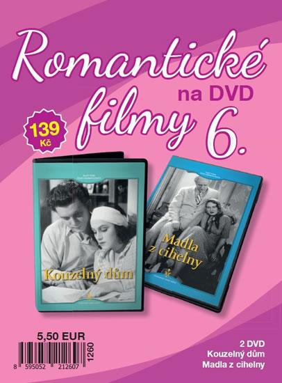 Romantické filmy 6 - 2 DVD