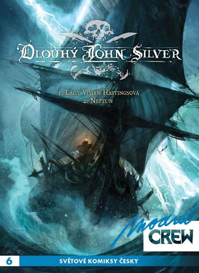 Modrá CREW 6 - Dlouhý John Silver 1 + 2