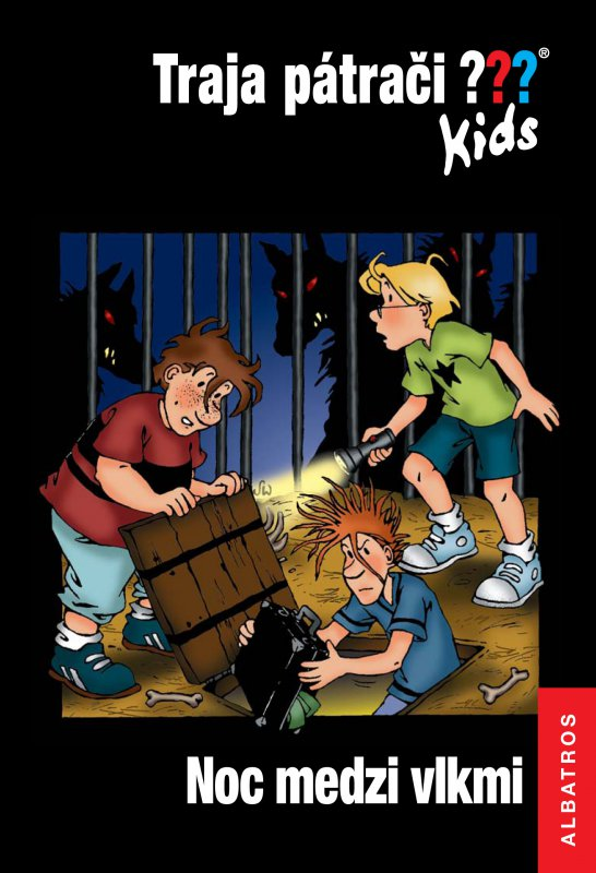 Traja pátrači Kids: Noc medzi vlkmi - Ulf Blanck