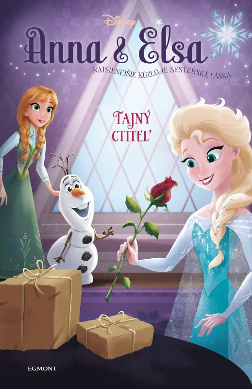Anna a Elsa Tajný ctiteľ - Erica David