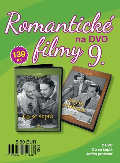 Romantické filmy 9 - 2 DVD