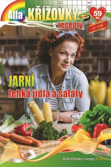Křížovky s recepty 1/2018 - Jarní lehká jídla a saláty