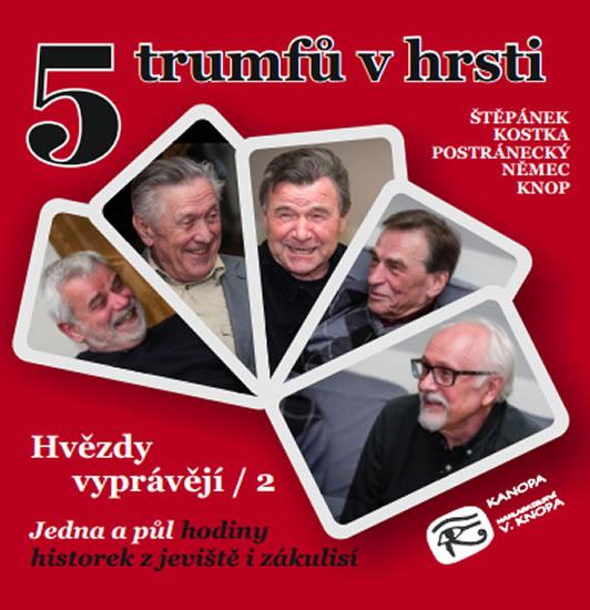 5 trumfů v hrsti - Hvězdy vyprávějí 2 - CDmp3