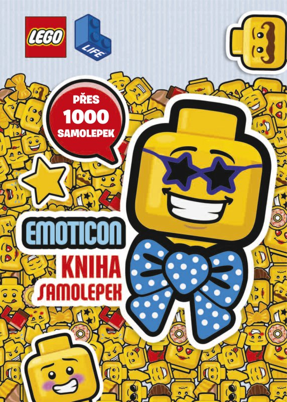 LEGO® EMOTICON Kniha samolepek