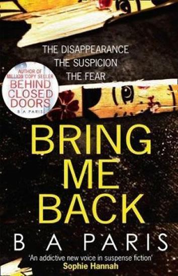 Bring Me Back - B.A. Paris