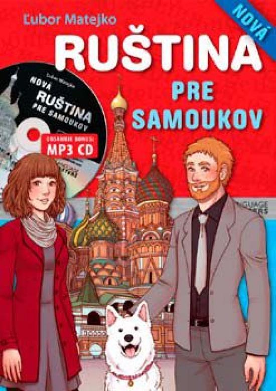 Nová ruština pre samoukov + MP3 CD - Ľubor Matejko