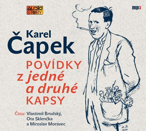 Povídky z jedné a druhé kapsy - CDmp3 - Karel Čapek