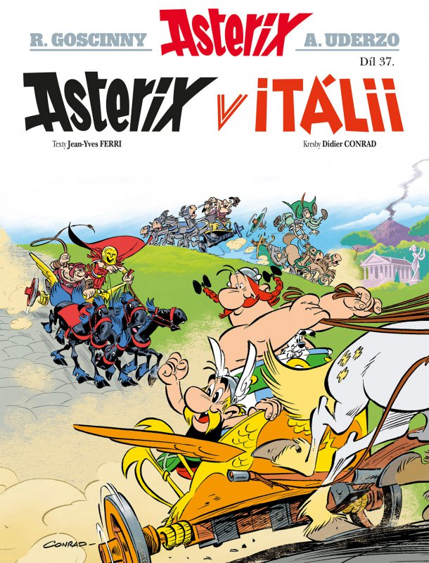 Asterix 37 - Asterix v Itálii