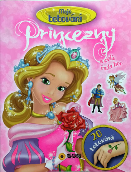 Princezny - Celá řada her a tetovačky