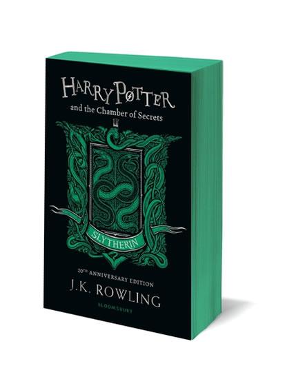 Harry Potter and the Chamber of Secrets: Slytherin Edition - Joanne K. Rowlingová