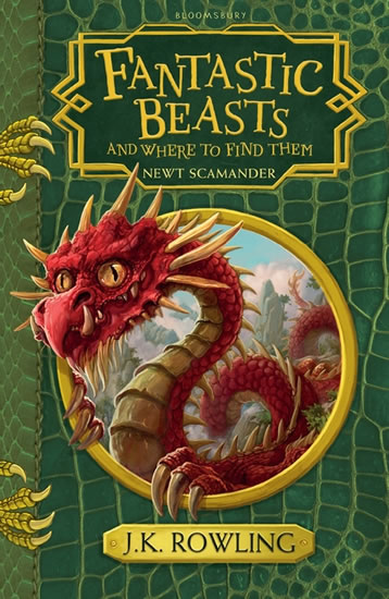Fantastic Beasts and Where to Find Them : Hogwarts Library Book - Joanne K. Rowlingová