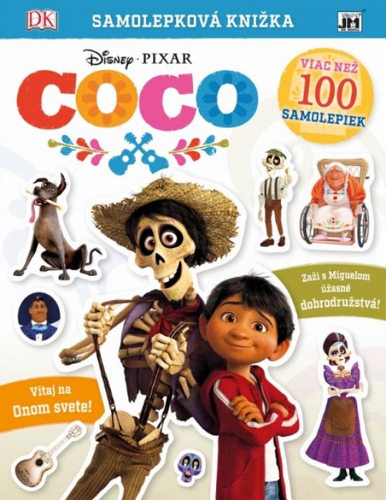 Samolepková knižka/ Coco