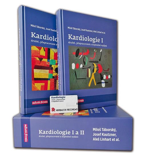 Kardiologie I. + II. (komplet 2 knihy pouzdře) - Miloš a kolektiv Táborský