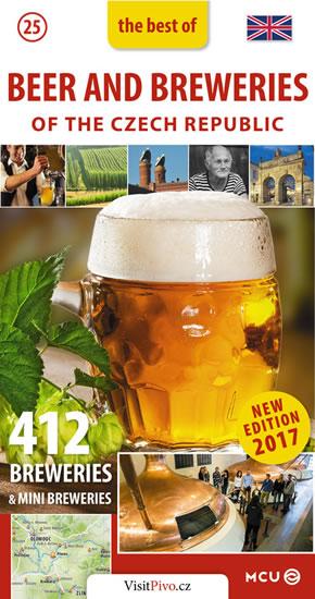 Pivo a pivovary Čech, Moravy a Slezska - kapesní průvodce/anglicky - Jan Eliášek