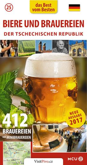 Pivo a pivovary Čech, Moravy a Slezska - kapesní průvodce/německy - Jan Eliášek