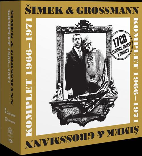 Šimek a Grossmann- komplet 1966-71 -17CD - Jiří Grossmann, Miloslav Šimek