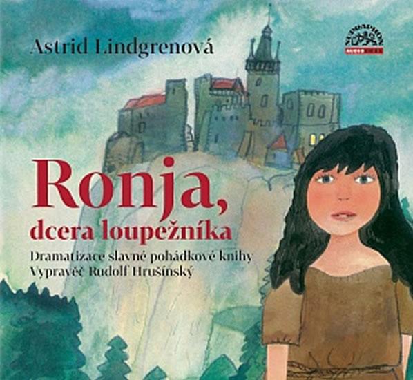 Dcera loupežníka - CD - Astrid Lindgrenová