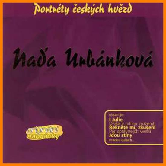 Naďa Urbánková - Portréty českých hvězd - CD - Naďa Urbánková
