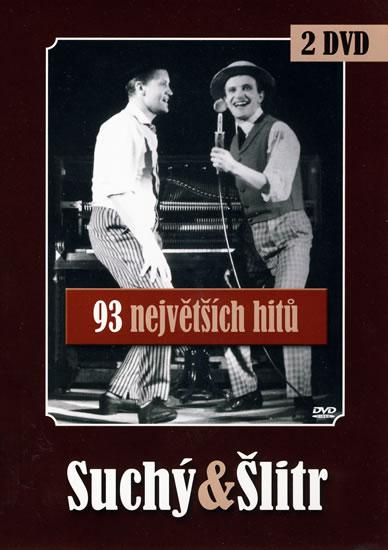 Suchý/Šlitr - 93 nej - 2DVD - Jiří Suchý