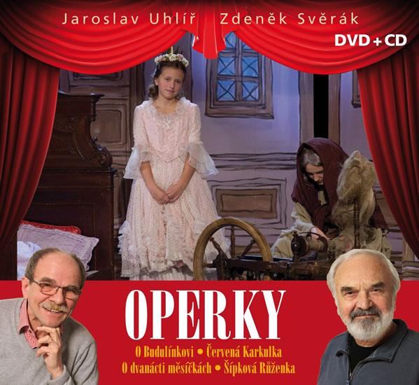 Operky - DVD+CD - Zdeněk Svěrák, Jaroslav Uhlíř