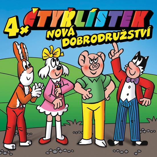 Čtyřlístek - Nová dobrodužství - CD